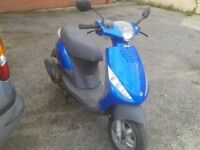 for sale piaggio zip 50cc 4 stroke no mot but will pass...