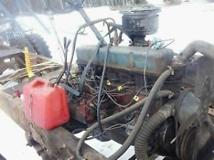 1957  261 inline 6 gas motor and drive train/ Trades