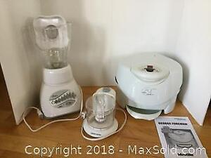 Small Kitchen Appliance Lot B