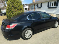 2008 Honda Accord noir Berline