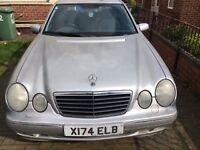 Mercedes E240 Avantgarde 2.4 V6 Petrol Automatic Genuine low mileage car