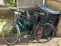 Raleigh Pioneer bicycle excellent condition