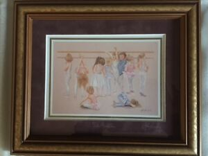 """The Audition"" Framed/Matted Print signed by John Newby"