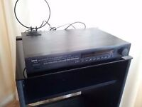 BLACK YAMAHA NATURAL SOUND AM/FM STEREO TUNER TX-540 (MADE IN JAPAN). £25