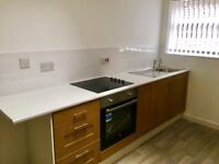 2 bed mid terr L4 5UJ central heating combi boiler unfurn fitted kitchen