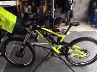 Saracen Myst Pro 2014 Size L Downhill Mountain Bike