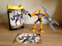 Lego Bionicle Mata Nui 8989. Good as new with box and full instructions.
