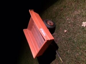 Lawn  Tractor Dump Trailer Belleville Belleville Area image 2