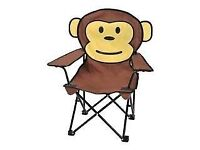 Childs chair - for the garden or for camping.