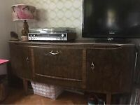 1960's mid century cocktail vintage/retro sideboard walnut finish