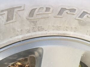 Jeep Rims/Tires- Set of 5