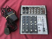 Phonic 2 Mic + 6 Channel Mixer