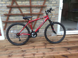 Boys Red Apollo Feud Mountain Bicycle