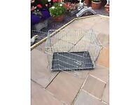 Medium Silver Pet Cage