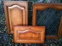 Oak Kitchen Unit Doors