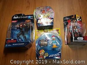 Collectible Action Figure Lot