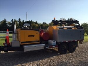 2016 Vactron hydro trencher/sewer flusher demo unit