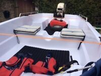 2016 Dory 3.6 mtr Fishing Boat With Engine And Trailer