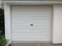 White Roll Up Garage Door