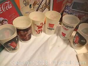 Vintage Holiday Christmas Coca Cola Collectibles