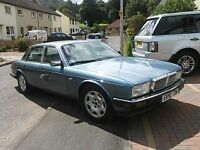 Jaguar / Daimler XJ6 3.6 Auto 4 door lwb saloon. 1988, E reg. Blue. 3 previous keepers. El sun roof.
