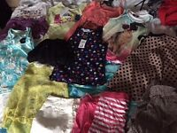 Bundle girls clothes age 6-7