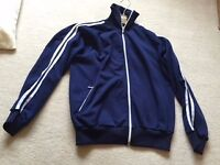 Original retro 70s Addidas zipper top