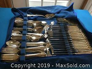 Remembrance Silver Plate Flatware Set