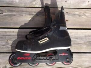 Rollerblades-Bauer Hockey Boot-men's size 9