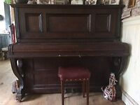 FREE TO GOOD HOME - Allison Arthur & Co upright piano
