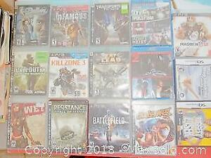 Video Games And DVDs