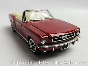 Franklin Mint Die Cast 1960s Mustang Convertible