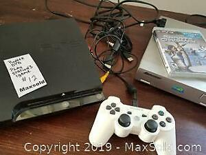 Play Station 3, 1 game, pioneer DVD player