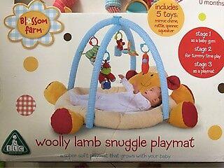 Woolly Lamb Snuggle Playmat
