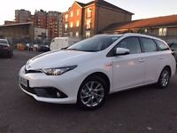 PCO CARS FOR HIRE PCO RENT UBER READY NEW TOYOTA AURIS SPORTS 2016 Plate From Only £180 per Week