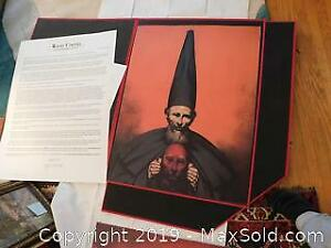 Rafael Coronel limited edition prints in Large Case