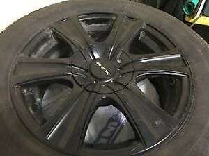 2012 Cadillac SRX 4 Snow Tires