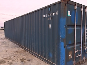 40' Standard Used Shipping Container - Monthly Payment Plan - NB