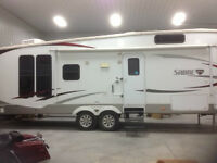 2010 34 Ft Forest River Sabre 5th Wheel