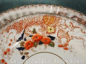 Set of early Victorian porcelain
