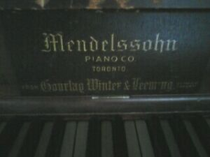 """Mendelssohn Upright Piano"" For Sale In Montague"