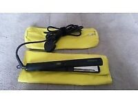 Brand new THX digital hair straighteners with heat mat & storage case