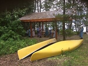 Family Camp Site on Babine Lake,  BC