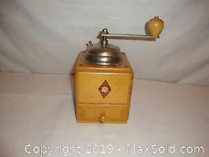 Antique coffee grounder