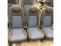 ford galaxy mk3 2nd row seats complete for sale or fitted call thanks