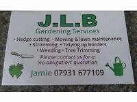 Small gardening company looking for work.