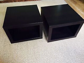 Used IKEA Side table on castors - 25£ for both
