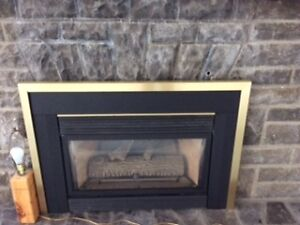 NATURAL GAS INSERT FIREPLACE