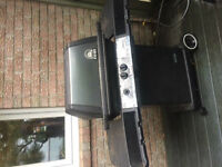 """BBQ """"Natural Gas Barbecue"""" Broil Mate with Cover"""