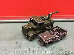 Dinky Recovery Tractor And Military Project